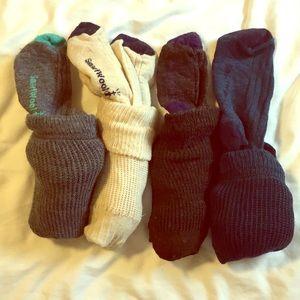 SmartWool knee socks (lot of 4)